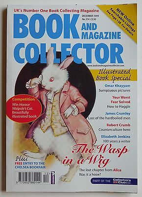 BOOK & MAGAZINE COLLECTOR #314 - 12/2009 - Elizabeth Jenkins, Robert Crumb