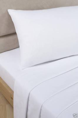 """100% Egyptian Cotton 300 Thread Count FLAT SHEETS 104"""" x 70"""".HOTEL QUALITY THICK"""