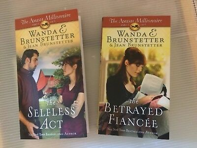 The Amish Millionaire Two Books by Jean Brunstetter the selfless act