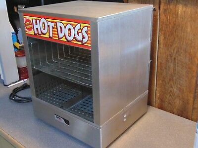 Professional Commercial APW Wyott DS-1A Hot Dog Steamer. Home, School, Business