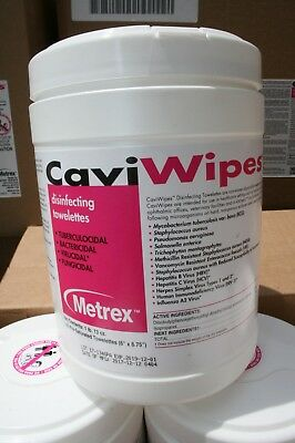 Caviwipes Wipes METREX Disinfectant Cleaner Cloth