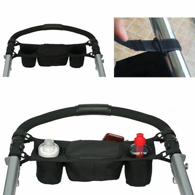 Storage Drink Holder Universal Pram Baby Organizer Stroller Buggy Bag