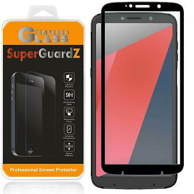 """2-PACK FULL COVER Tempered Glass Screen Protector For Motorola Moto """" Z3 Play """""""