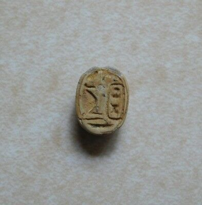 Steatite Scarab of Thutmose III Featuring Thoth - Egypt - 1550-1400 B.C.