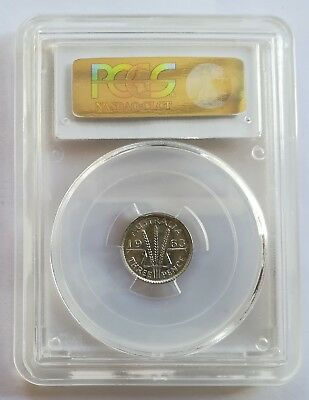 Australian 1963 (m) THREEPENCE 3D PCGS Graded MS67