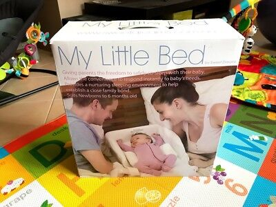 Sweet Dreams My Little Bed Co-Sleeping Travel bed 0-6 Months Sydney Pick-up