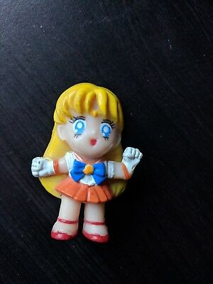 Vintage  1997 Irwin Sailor Moon Sailor Venus Chibi Mini Figure