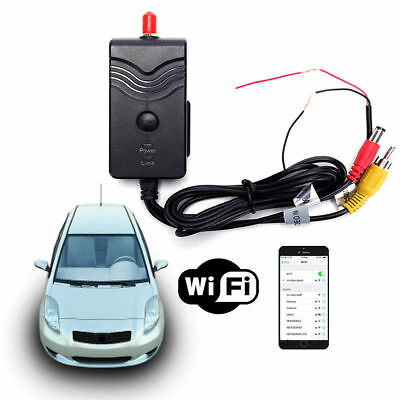 Video Transmitter w/ Mini Butterfly Type Rear View Camera WiFi AV Interface 903W