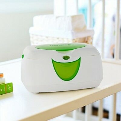 Baby Wipe Warmer Warm Glow Color Auto Night Light Flip Top Wipes Holder Munchkin