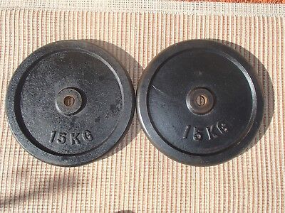 Weight Plates 15kg * 2