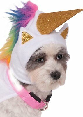 Unicorn Dog Costume w/ Light-Up Collar