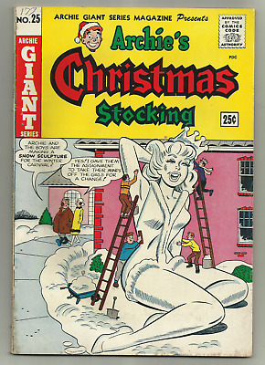 Archie Comics Archies Christmas Stocking #25 Giant Series 1964 Silver Age Comics