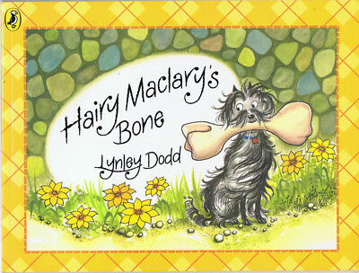 Hairy Maclary's Bone by Lynley Dodd Paperback VGC FREE POSTAGE