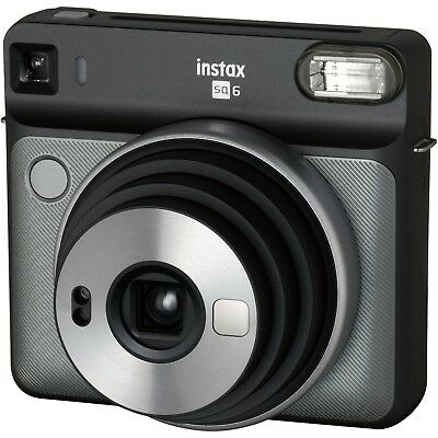 NEW FUJIFILM INSTAX SQUARE SQ6 Instant Film Camera (Graphite Gray)
