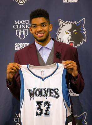 """TY20049 NBA Super Stars - Karl Anthony Towns Timberwolves 14""""x19"""" Poster"""