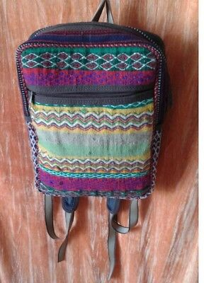 Hand Knotted Backpack