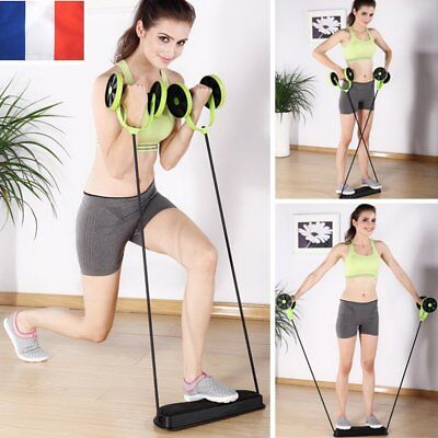 Abdominal Exercices abdominaux total-body fitness xtreme trainer resistance xrc