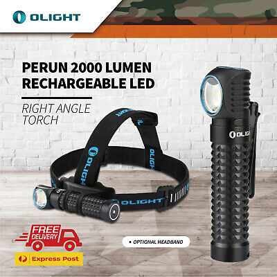 Olight New H2r Nova 2300 Lumen Rechargeable Led Headlamp W/ Battery Charger