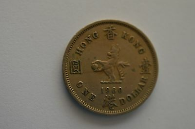 1960 Hong Kong One Dollar