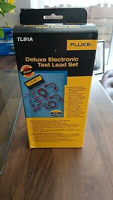 Fluke TL81A Deluxe Electronic Test Lead Set ***New ***