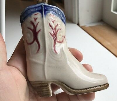 Made In Occupied Japan Antique Porcelaine Boot