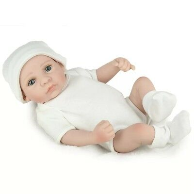 Realistic Newborn Baby Boy Doll Life-like Dolls Beautiful Real Looking 10 pc Set