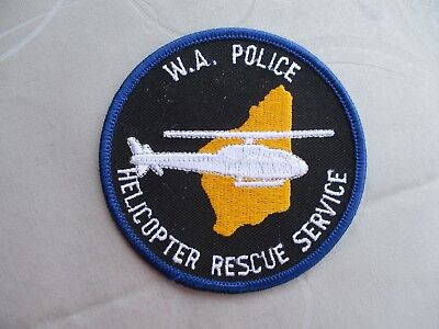 West Australien W.A. Police Helicopter Rescue Service, Luftrettung, SAR