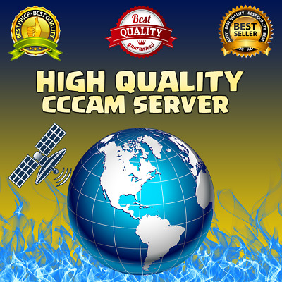 Cccam Premium Server - 12 Months - 100% Without Cuts Hd Polish And More