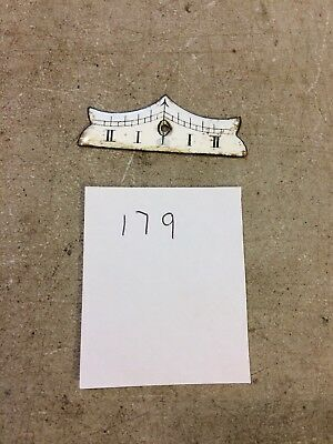 Antique German R/A Regulator Wall Clock  Enamel Beat Scale
