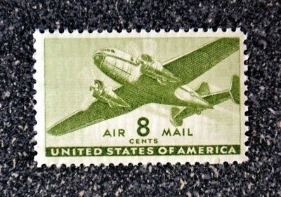 1944US #C26 8c Twin Motored Transport Plane - Air Mail -  Mint NH