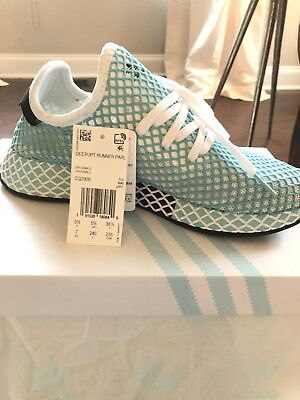 check out b8d42 67c05 Adidas Originals Deerupt Runner Parley W Women White Lifestyle New Shoes  CQ2908