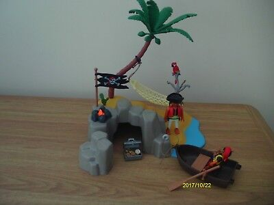 Playmobil Pirates Island Set 4139 Complete Boxed With Instructions