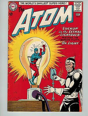The Atom #8 (Aug-Sep 1963, DC)! VG4.5+! Early silver age DC beauty! Take a look!