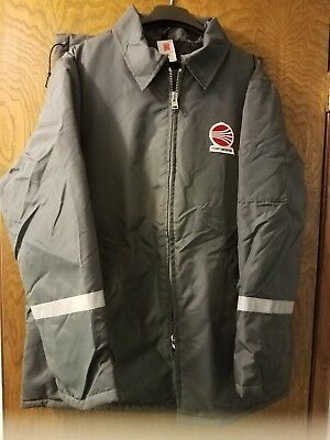 Continental Airlines Vintage 1980's Winter Ground Service Jacket