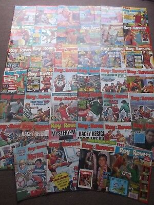 50 x ROY OF THE ROVERS from 1990