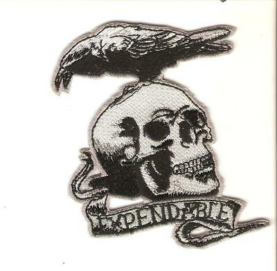 + Aufnäher Patch THE EXPENDABLES Logo Bruce Willis Silvester Stallone