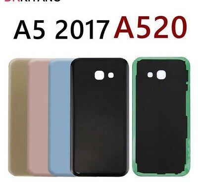 New Samsung Galaxy A5 2017 A520F Rear Glass Back Battery Cover With Adhesive