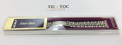 Vintage 14mm Rowi Fixo-Flex Stainless Steel Watch Bracelet ,Old stock Brand New
