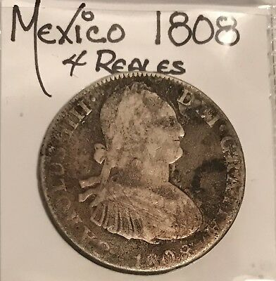 Mexico Colonial 1808 4 reales