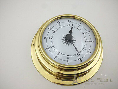 70mm Brass Enclosed  Clock Movement