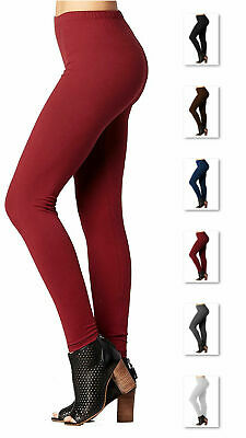 Womens Ultra-Soft HIgh Waist Fleece Lined Premium Winter Leggings