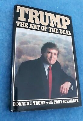Trump the art of the deal by donald trump first edition 1987 the art of the deal donald trump first edition potus 1987 hardcover book fandeluxe Choice Image