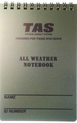 Tas 10 X 15Cm All Weather Notebook Waterproof With Grid Lines 50 Page