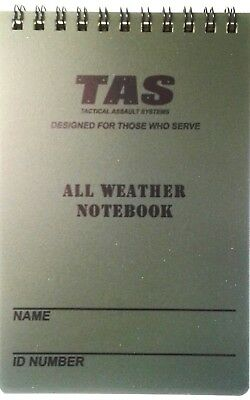 Waterproof All Weather Notepad 10 X 15Cm With Grid Lines 50 Page - Tas