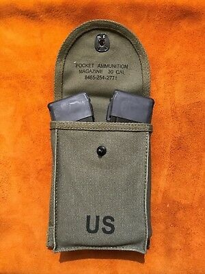 M1 30 Carbine magazine pouch with 10 round mags