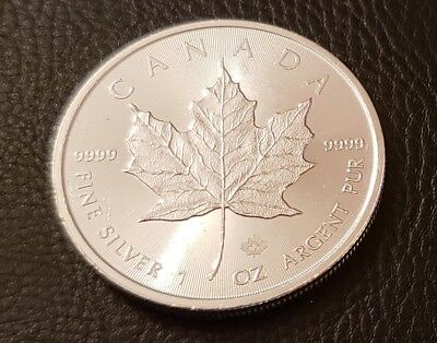 1 oz t .9999 RCM Silver Maple Bullion Coin 1oz One Troy Ounce