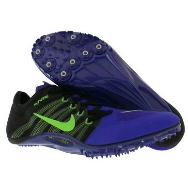 e6ee76b1521d6 New Nike Zoom JA Fly 2 Track Shoes Men s Size 12 Sprint Spikes Purple 705373 -
