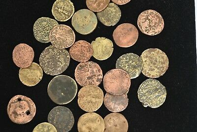 Lot Of 2 Large Roman Coins In Each Batch  - P To Fair Condition - Great Deal