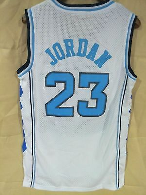 Michael Jordan College Basketball Jerseys North Carolina #23 White S-3XL