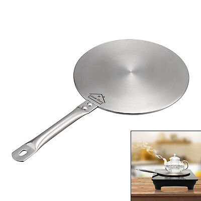 Stainless Steel Induction Converter Disc Heat Diffuser Gas/Electric Cookers